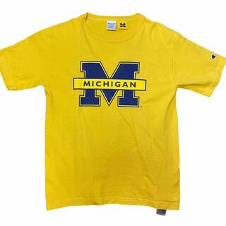 Champion - チャンピオン 半袖 Tシャツ ミシガン USA製 Champion