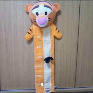 クマノプーサン(くまのプーさん)の未使用♡DISNEY/くまのプーさん/ティガーぬいぐるみ身長計(キャラクターグッズ)