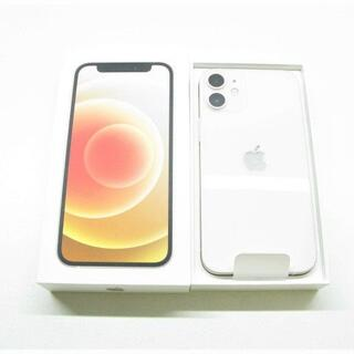 アイフォーン(iPhone)の【S】SIMフリー docomo iPhone12 mini 64GB ホワイト(スマートフォン本体)