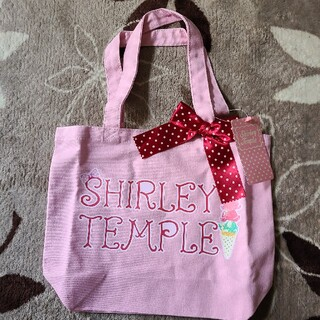 Shirley Temple - シャーリーテンプルタグ付きトートバッグ☆ワンピースにあわせて