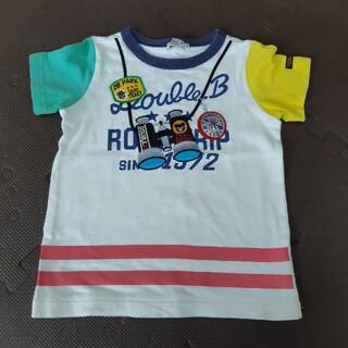 DOUBLE.B - サイズ110 ダブルビー 半袖 Tシャツ