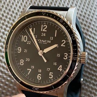 COACH - COACH コーチクオーツメンズ 腕時計 CA.80.2.29.1340 美品