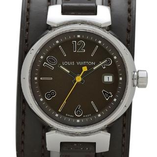 ルイヴィトン(LOUIS VUITTON)のルイ・ヴィトン タンブール トリプル コイルド Q1211 レディース 【中古】(腕時計)