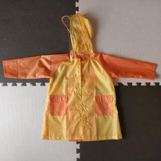 ニシマツヤ(西松屋)のリュック&ランドコート 100cm(レインコート)