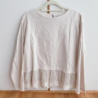 サマンサモスモス(SM2)の裾レースブラウス(シャツ/ブラウス(長袖/七分))