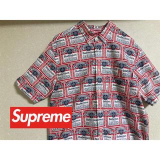 シュプリーム(Supreme)の【美品】Supreme x Budweiser Shirts 2009(シャツ)