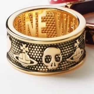 Vivienne Westwood - 新品・KINGSTON Ring Antique Gold sizeXS