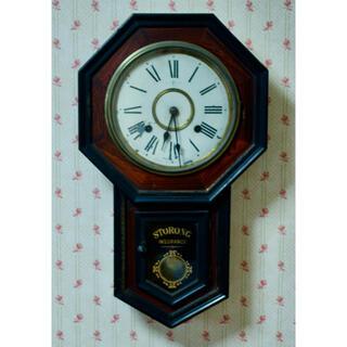 SEIKO - 骨董品トレードマーク 八角柱時計