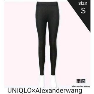 ユニクロ(UNIQLO)の[新品]UNIQLO×Alexanderwang ヒートテックレギンス(レギンス/スパッツ)