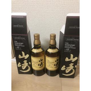 サントリー - サントリー ウイスキー 山崎 12年 箱付き 2本