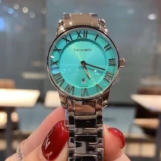 Tiffany & Co. - Tiffany & Co. Atlas 2-Hand ィファニー 腕時計///*