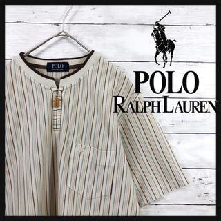 POLO RALPH LAUREN - 90.s ラルフローレン ワンポイントポニー刺繍ハーフジップカットソー