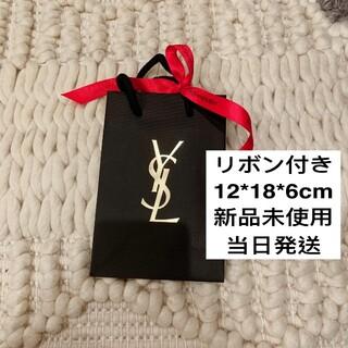 イヴサンローランボーテ(Yves Saint Laurent Beaute)のYSL イヴサンローラン ショッパー ショップ袋 レッド(ショップ袋)