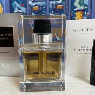クリスチャンディオール(Christian Dior)のCHRISTIAN DIORのディオールオム50ml とオマケ(香水(男性用))