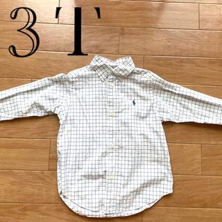 ポロラルフローレン(POLO RALPH LAUREN)のラルフローレン ボタンダウンシャツ 3T(Tシャツ/カットソー)