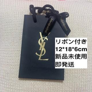 イヴサンローランボーテ(Yves Saint Laurent Beaute)のYSL イヴサンローラン ショッパー ショップ袋 ブラック(ショップ袋)