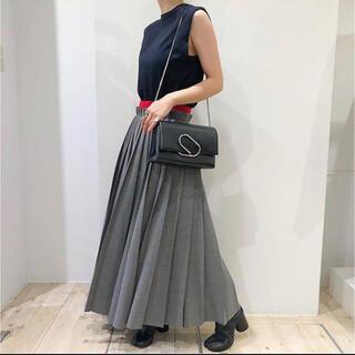 ENFOLD - ENFOLD グレンチェックカットオフプリーツスカート
