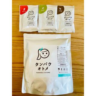 タンパクオトメ アソート3種+チョコミント245g(1回分使用)