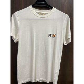 メゾンキツネ(MAISON KITSUNE')のメゾンキツネ Tシャツ 使用感あり(Tシャツ(半袖/袖なし))