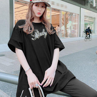 Rady - ロゴTシャツ  ブラック