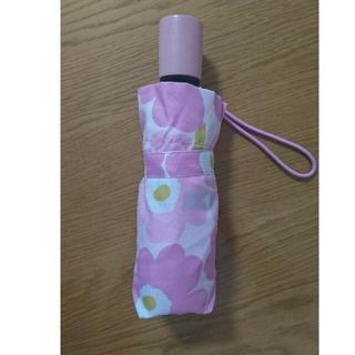 マリメッコ(marimekko)の【専用】marimekko 折り畳み傘 ウニッコ ピンク(傘)
