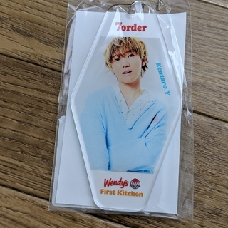 7order Wendy's コラボ アクリルキーホルダー 新品 安井謙太郎(男性タレント)