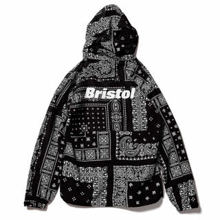 F.C.R.B. - fcrb bandana nylon hooded blouson L 黒