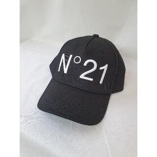 N°21 - 【新品・未使用】N°21 KIDS ベースボールキャップ ブラック
