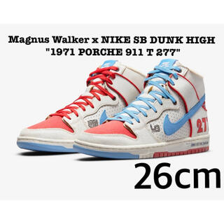 NIKE - 込み Magnus Walker x NIKE SB DUNK HIGH 26