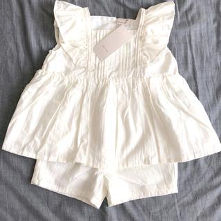 プティマイン(petit main)のプティマイン  セットアップ 90(Tシャツ/カットソー)