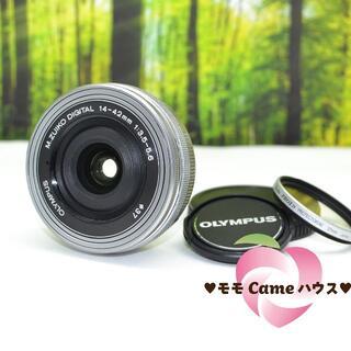 オリンパス(OLYMPUS)のオリンパス M.zuiko 14-42mm☆電動式レンズ☆1769-1(レンズ(単焦点))