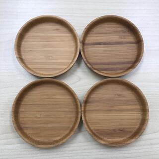 スガハラ(Sghr)のスガハラ 竹のコースター 4枚セット(グラス/カップ)