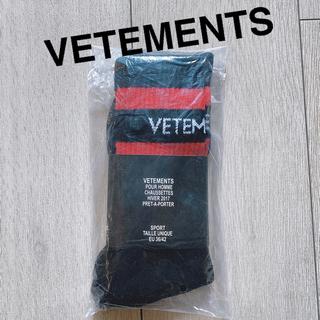 VETEMENTS ヴェトモン socks SEXUAL FANTASIES
