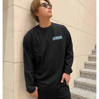 GYDA - MIRROR9 Embroidery Longsleeve Tshirts