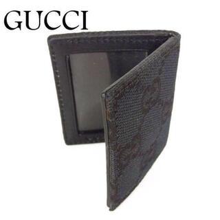 グッチ(Gucci)のグッチ GUCCI GG キャンバス×レザー ミニ フォト フレーム ケース(パスケース/IDカードホルダー)