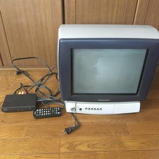 パナソニック(Panasonic)のパナソニック ブラウン管テレビ 地上デジタルチューナー付き(テレビ)