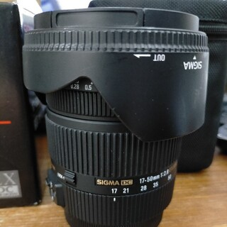 シグマ(SIGMA)のSIGMA 17-50mm F2.8 EX DC OS  キヤノンEFマウント(レンズ(ズーム))