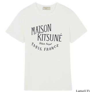メゾンキツネ(MAISON KITSUNE')のメゾンキツネ ロゴTシャツ(Tシャツ(半袖/袖なし))