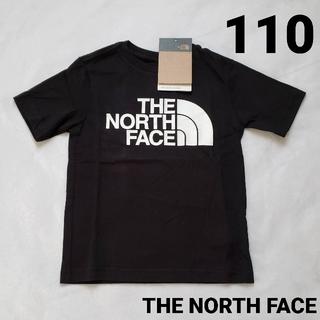 THE NORTH FACE - ノースフェイス 半袖Tシャツ 110xxsブラック黒新品ビッグロゴ