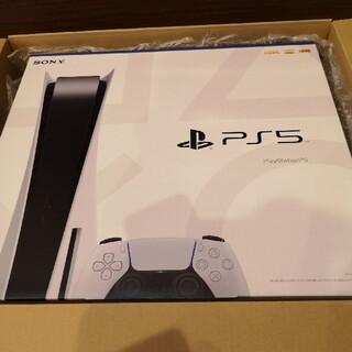 プレイステーション(PlayStation)のPS5 プレイステーション5 本体 未開封 PlayStation(PCゲームソフト)