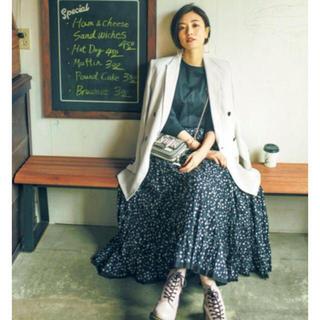 Demi-Luxe BEAMS - 即完売CLASSY掲載 マリハ MARIHA 草原の虹ドットスカート