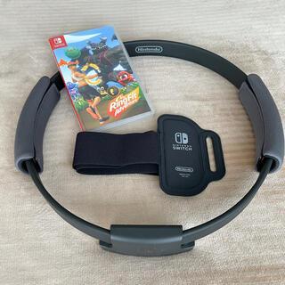 Nintendo Switch - 箱なし・美品◆任天堂 リングフィットアドベンチャー ソフト&コントローラー