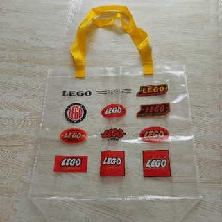 Lego - LEGO  マチ付き透明ビニールトートバッグ