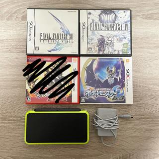 ニンテンドウ(任天堂)の3DS LL 本体ソフトセット(携帯用ゲーム機本体)