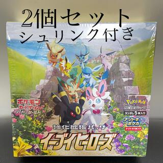 ポケモン(ポケモン)のイーブイヒーローズ BOX(Box/デッキ/パック)