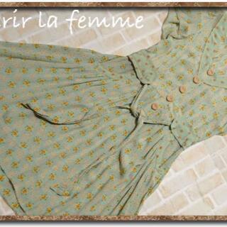 franche lippee - シェリーラファム プリントブラウスチュニックワンピース