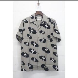 WACKO MARIA マインデニム レコード Hawaiian Shirt L
