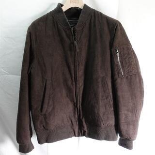 ユニクロ(UNIQLO)のUNIQLO コート ブラック(フライトジャケット)