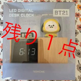 BTS BT21 フィギュア置き時計 CHlMMY チミー