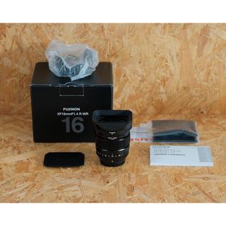 富士フイルム - FUJIFILM XF 16mm F1.4 R WR 純正角型フード付き